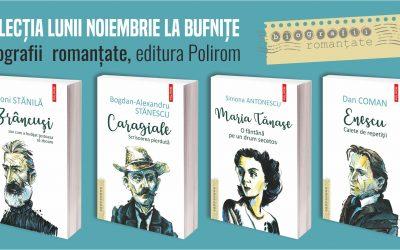 3 scriitori români contemporani vin săptămâna aceasta la Timișoara să lanseze colecția Biografii romanțate a editurii Polirom