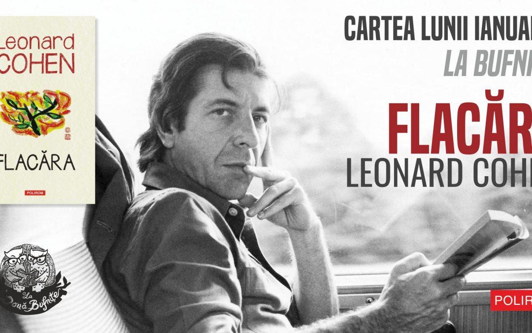 Flacăra, de Leonard Cohen: lansarea de carte și audiție la Timișoara