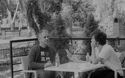 Luca Dragu în dialog cu José Luís Peixoto
