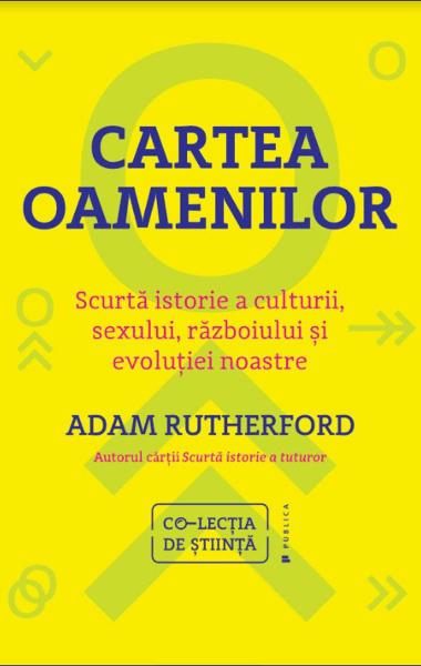 Adam Rutherford Cartea oamenilor
