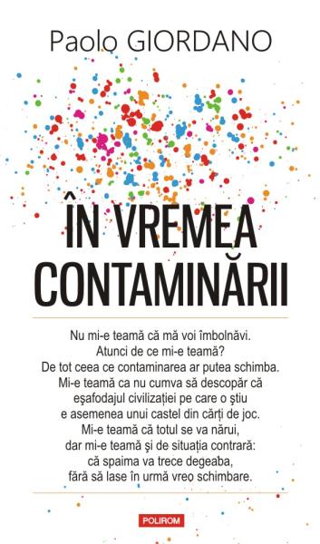 Paolo Giordano In vremea contaminarii