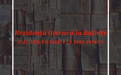 Rezidență literară la Bufnițe