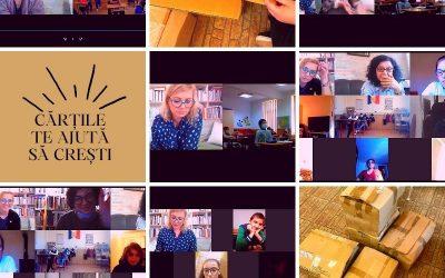 Cărțile te ajută să crești, proiect al Asociației Culturale La Două Bufnițe, s-a încheiat cu succes