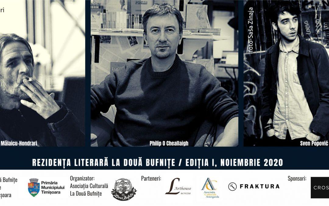 Rezidența Literară La Două Bufnițe: Sven Popović