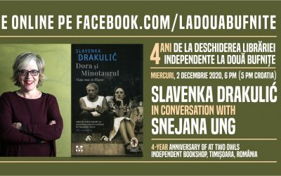 Slavenka Drakulić in conversation with Snejana Ung