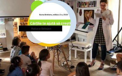 Cărțile te ajută să crești. Bursa Brătianu din partea Ministerului Culturii