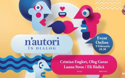 Eveniment online: N'autori în dialog la Bufnițe
