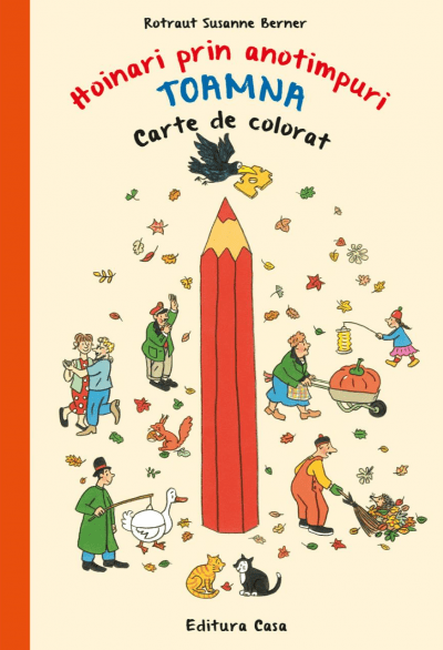 hoinari prin anotimpuri toamna carte de colorat