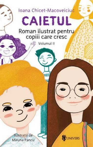 caietul roman ilustrat pentru copiii care cresc