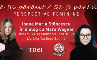 Ioana Maria Stăncescu și Mara Wagner la Bufnițe